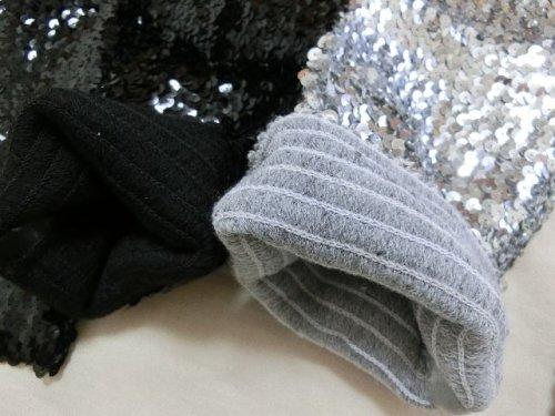 他の写真1: 【ダンス衣装】きらきらスパンコールレッグウォーマー44cm|キッズ|ジュニア|レディース|きらきら|衣装|発表会|アクセサリー