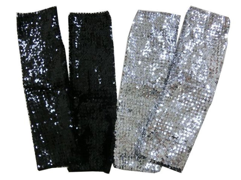 画像1: 【ダンス衣装】きらきらスパンコールレッグウォーマー44cm|キッズ|ジュニア|レディース|きらきら|衣装|発表会|アクセサリー