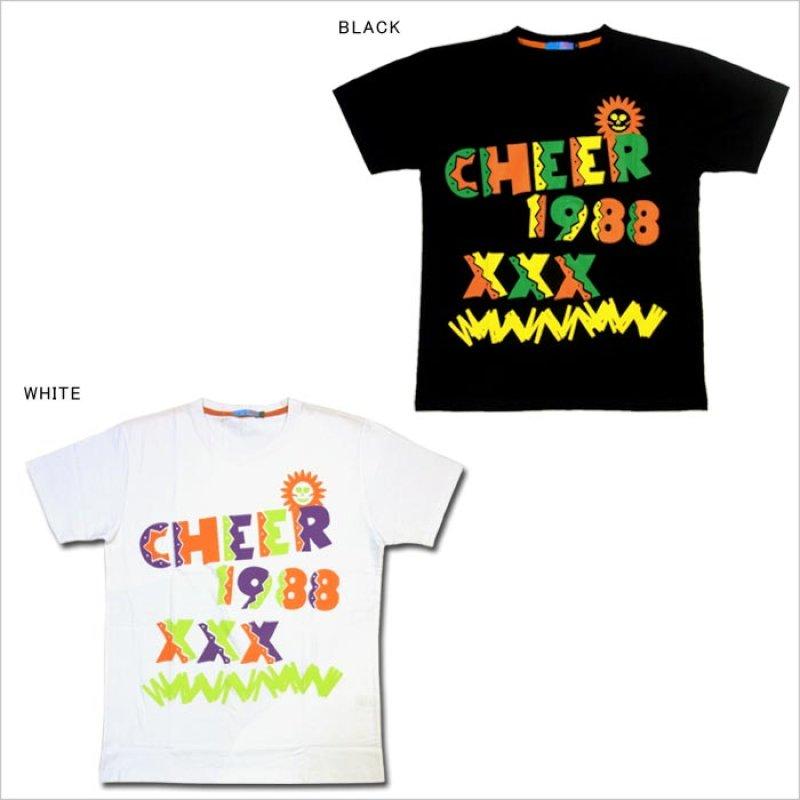 画像3: 【キッズダンス衣装】★SALE50%OFF★CHEER EX メキシカンカラービッグ半袖Tシャツ(CX713330)【チアー | cheer | ダンス衣装 | キッズダンス衣装 | Tシャツ | トップス | カラフルロゴ | 黒 | 白 | ブラック | ホワイト | hiphop | dance | ヒップホップ kids | CHEER】