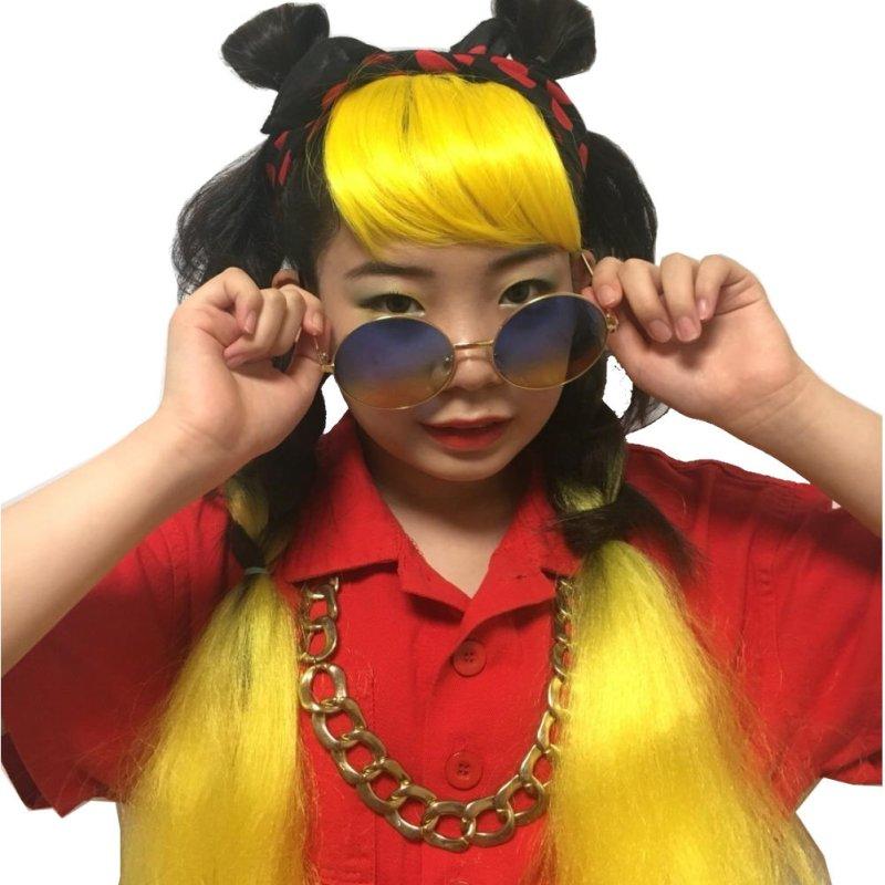 画像5: 【キッズダンス小物】日本製☆中判バンダナ水玉ドット柄カラーバリエーション☆ダンス衣装に!!hiphopヘアアレンジに!!