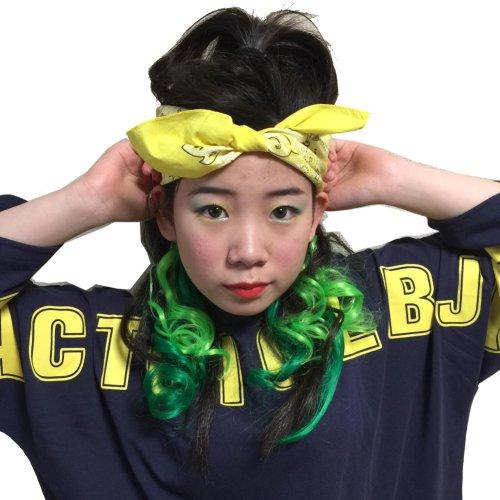 他の写真2: 【キッズダンス小物】大判バンダナ☆ダンス衣装に!!hiphopヘアアレンジに!!