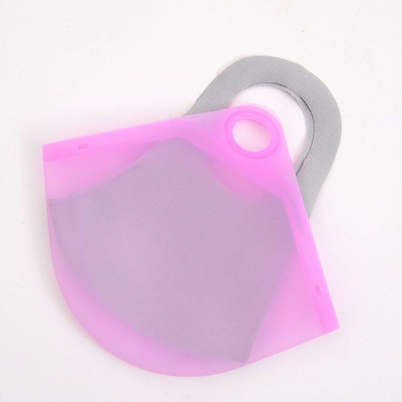 画像2: シリコンマスクケース【マスク入れ 洗って繰り返し使える カラフル  オシャレマスク マスク収納 無地】